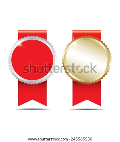 Blank award. - stock vector