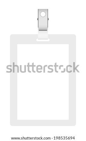 Blank badge, vector illustration - stock vector