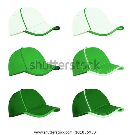 blank baseball hat template stock vector 101836933 shutterstock