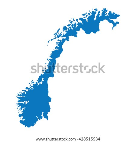 Norway Map Vector Stock Images RoyaltyFree Images Vectors - Norway map counties