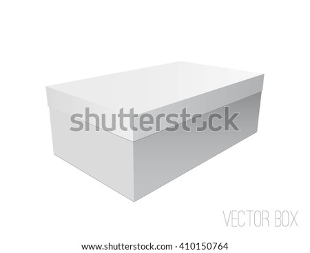 Blank Box,Mockup for your design. Vector, EPS10 - stock vector