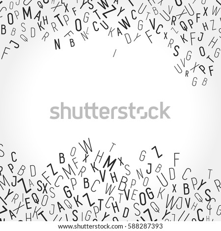 Blank Messy Lettering Background Space Your Stock Vector Royalty
