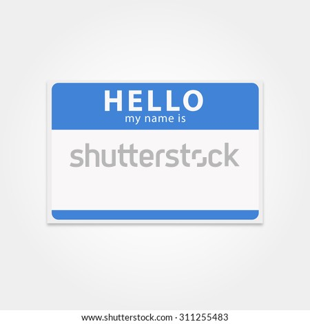 stock-vector-blank-template-tag-my-name-