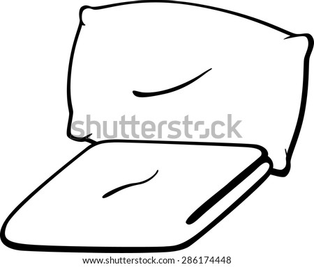 pillow and blanket clipart. blanket and pillow clipart i