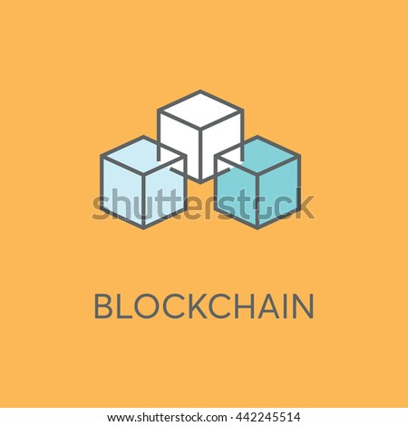 Blockchain Vector Icon Stock Vector 442245514 Shutterstock