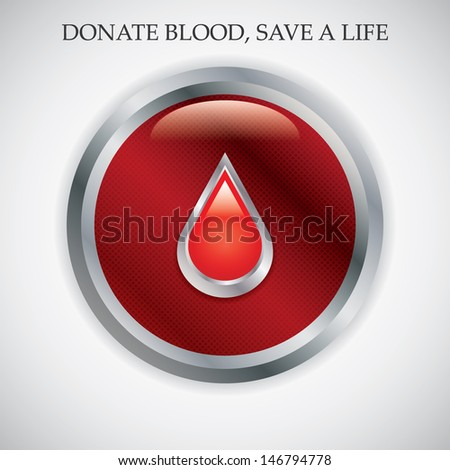 Blood donation vector.Medical background .vector - stock vector