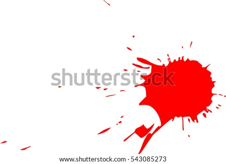 blood splatter stock vector hd royalty free 543085273 shutterstock rh shutterstock com blood splatter vector brush blood splatter transparent vector
