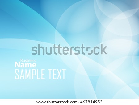 Blue abstract background for business card or banner