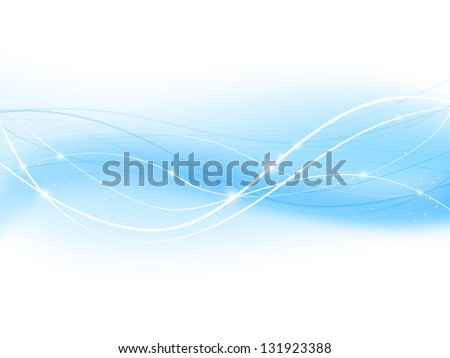 Blue abstract background for Your design - stock vector