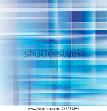 Blue abstract background with place for text - stock vector