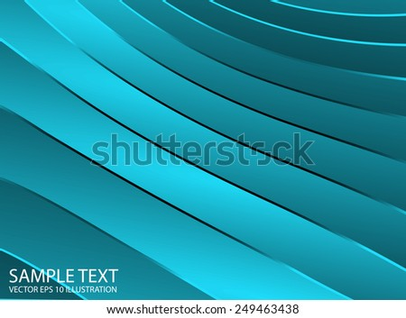 Blue abstract design vector shiny illustration template - Vector abstract blue shine background illustration - stock vector