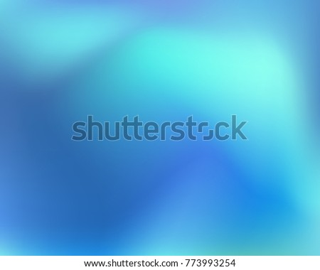 Blue abstract gradient background. Vector illustration. Eps 10.