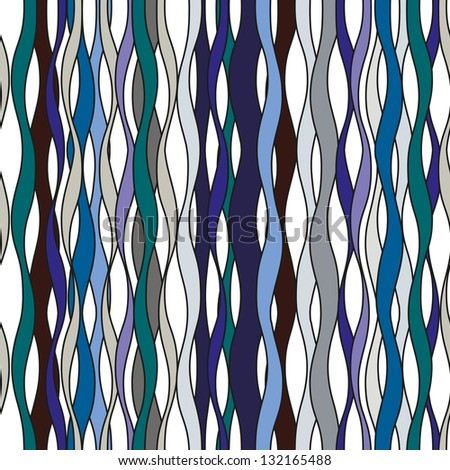 blue abstract pattern with lines