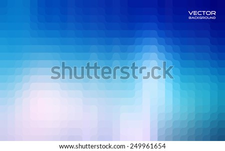 Blue abstract vector background for design.