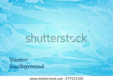 blue abstract watercolor background, vector illustration - stock vector