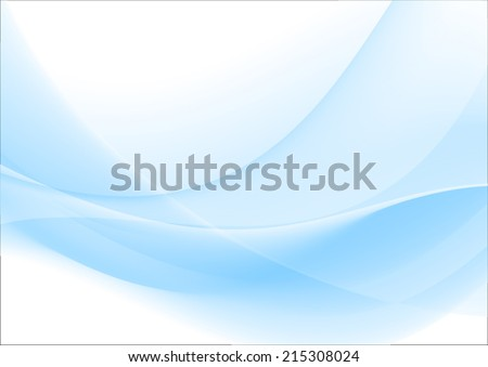 Blue abstraction - stock vector