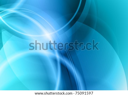 blue and cold abstract background - stock vector