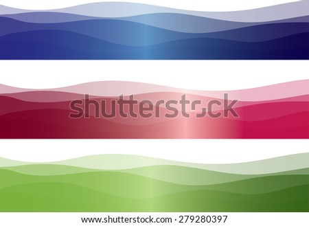 blue and purple, green background