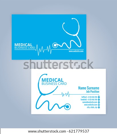 Medical Business Card Stock Images RoyaltyFree Images  Vectors