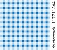Blue and white seamless tablecloth - stock photo