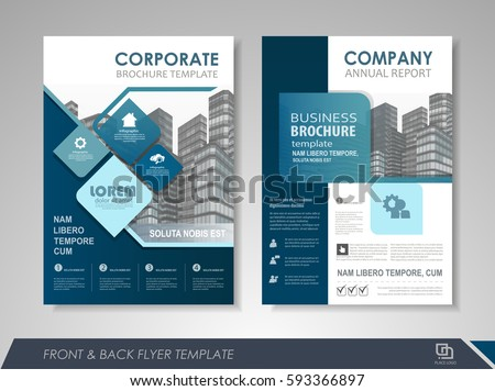 Brochure Layout Stock Images RoyaltyFree Images Vectors - Brochure flyer templates