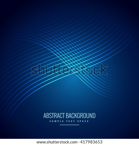 blue background with curve lines pattern
