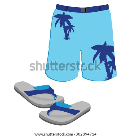 Beach Shorts Stock Images, Royalty-Free Images & Vectors ...
