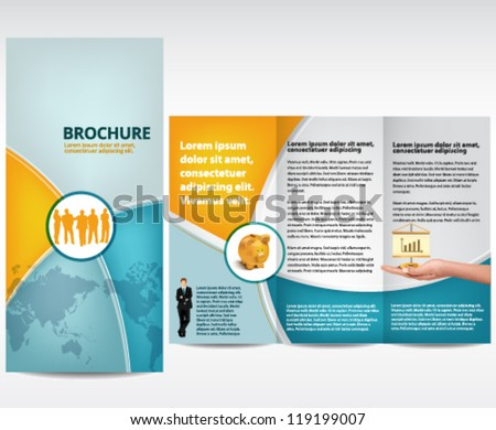 Flyer Template Images RoyaltyFree Images and Vectors – Advertising Brochure Template