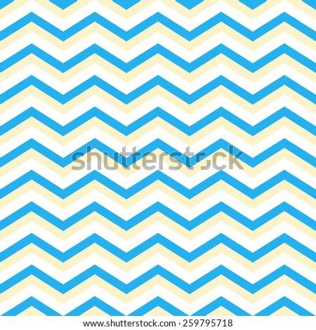 blue chevron pattern background seamless - stock vector