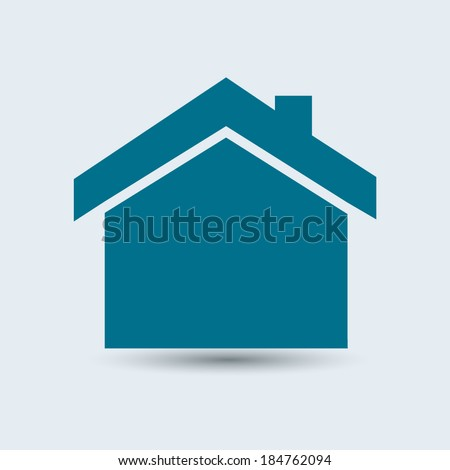 blue house icon stock images, royalty-free images & vectors