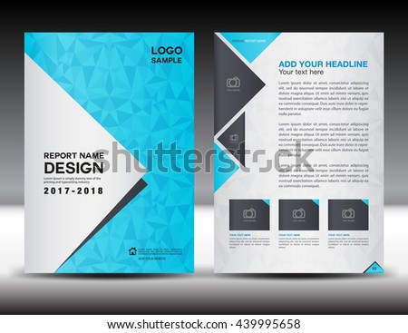 Annual Report Brochure Flyer Design Template Vector – Sample Annual Report of a Company