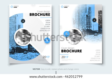 Blue cover design corporate business template stock vector 462012799 blue cover design corporate business template for brochure report catalog magazine flashek Gallery