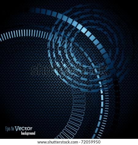 Blue elegant background - stock vector