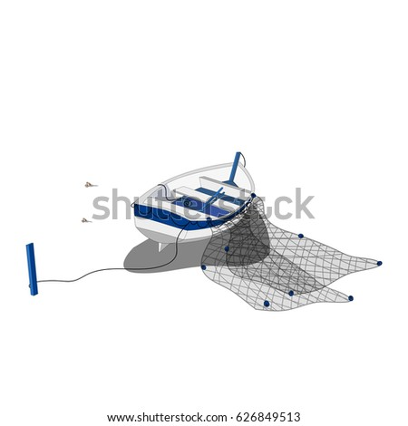 fishing net vector - photo #24
