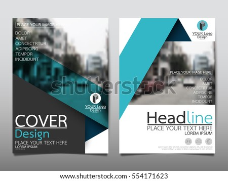 blue flyer cover business brochure vector design leaflet advertising abstract background modern poster magazine