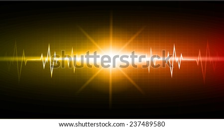 Blue Green color pulse Light Abstract Technology pixels background for computer graphic website and internet,  - stock vector