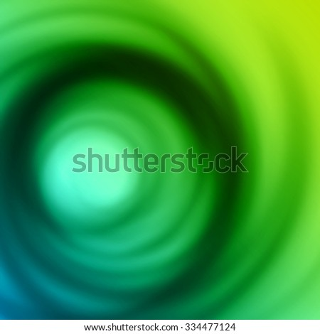 Blue green smooth twist light lines vector background. Good for Brochure, Presentation, Advertising Banner, Flyer or Poster design. - stock vector