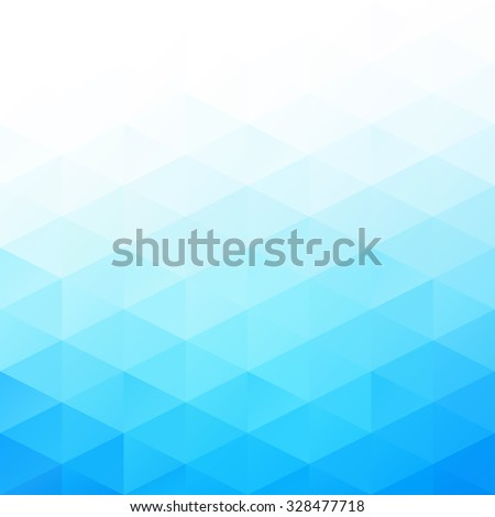Blue Grid Mosaic Background, Creative Design Templates - stock vector