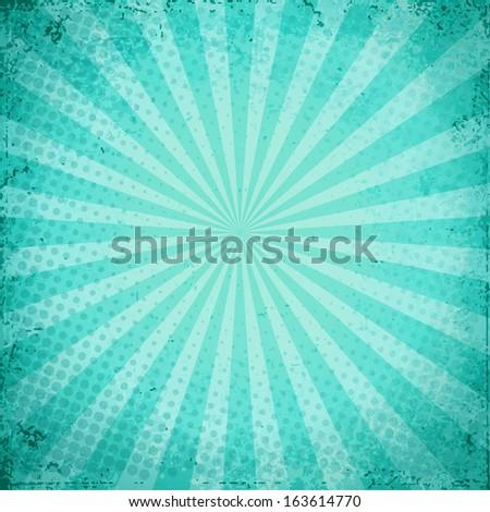 Blue grunge texture paper - stock vector