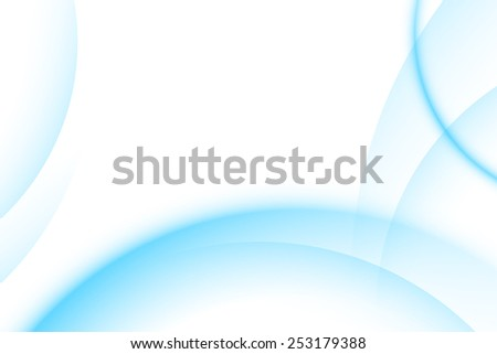 Blue light gradient abstract background - stock vector