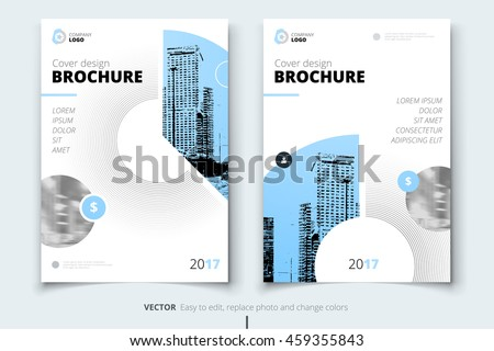 Blue magazine design corporate business template stock vector 2018 blue magazine design corporate business template for brochure annual report catalog layout cheaphphosting Images