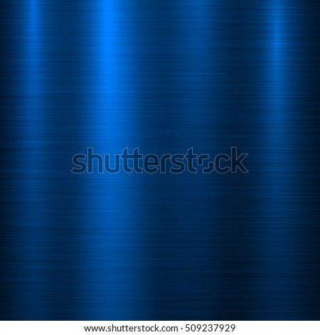 Blue Metal Abstract Technology Background Polished Stock ...