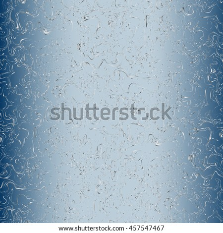 blue metal seamless scribble pattern