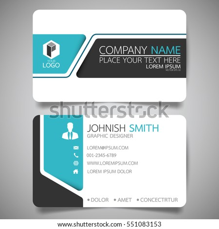 graphic designer visiting cards design vectors www