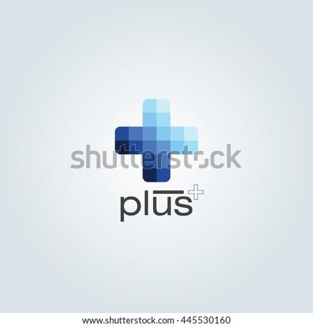 Blue Monochromatic Color Plus Design