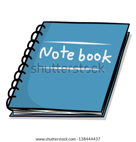 Cartoon Notebook Stock Images Royalty Free Images