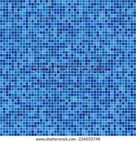 blue pixel mosaic background stock vector 226050748 - shutterstock