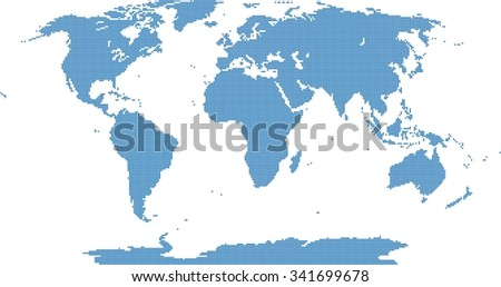 World map pixel imgenes pagas y sin cargo y vectores en stock blue pixel world map on white background vector illustration gumiabroncs Image collections