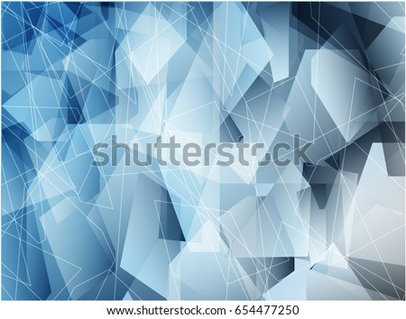 Blue Polygon Background Graphic Wallpaper Abstract Backbround