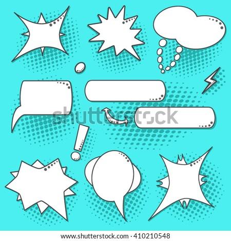 Pop Art Speech Bubble Stock Images, Royalty-Free Images & Vectors ...